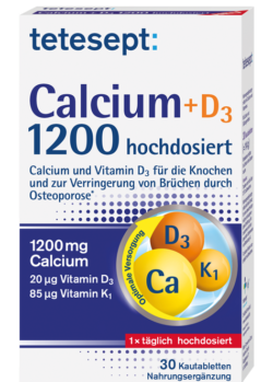 Calcium+D3 1200 hochdosiert
