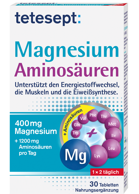 Magnesium Aminosäuren