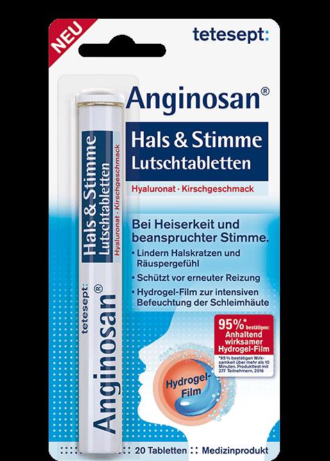 Anginosan® Hals & Stimme Lutschtabletten