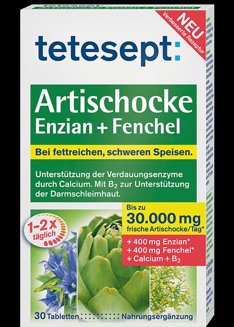 Artischocke Enzian + Fenchel Plus
