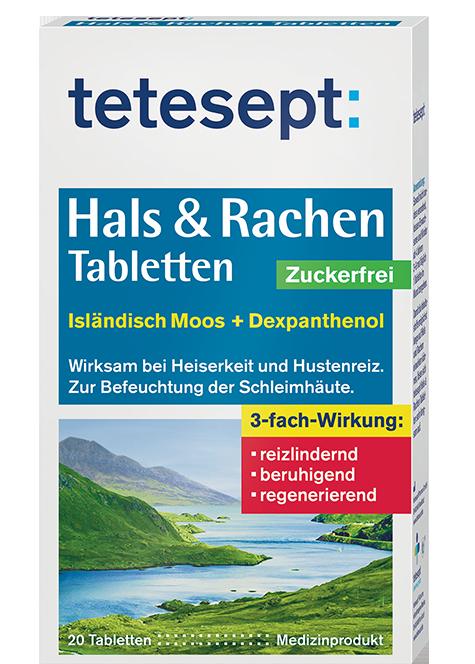 Hals Tabletten Isländisch Moos