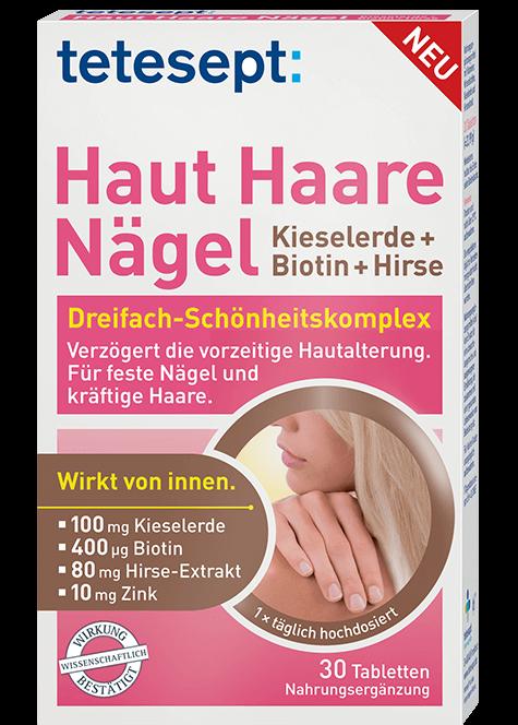 Vitamine U0026 Mineralstoffe - Haut Haare Nu00e4gel | Tetesept
