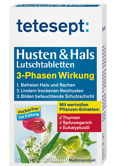 Husten & Hals 3 Phasen Lutschtabletten