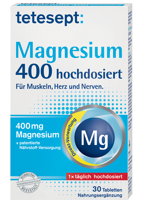Magnesium 400 hochdosiert