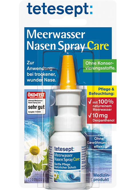 Meerwasser Nasen Spray Care