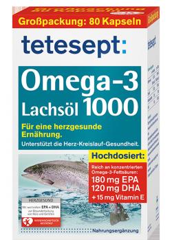 Omega-3 Lachsöl 1000