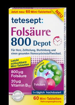 Folsäure 800 Depot