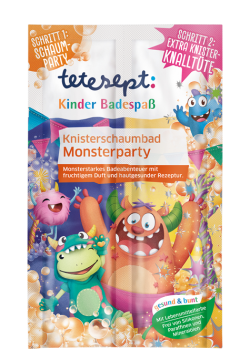 Knister-Schaumbad Monsterparty